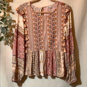 American Eagle Medium, Bohemian blouse